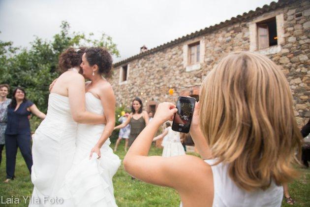 boda lesbianas laia ylla foto