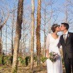 Una delicada y romántica boda de invierno en Masia Rosàs