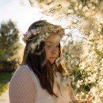 Un paseo de primavera en el reportaje de Comunión de Adriana