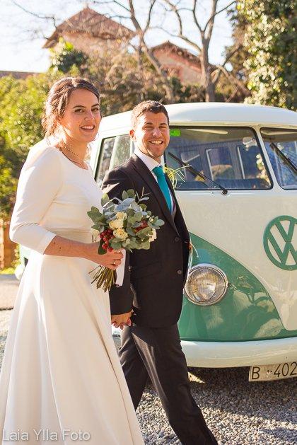boda invierno laia ylla foto