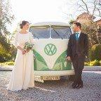 La boda de È&J en pleno invierno y muchos detalles en Can Magí