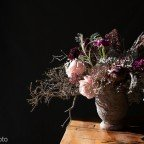 Cuando la belleza aparece de entre las sombras...Studio Floral y el claroscuro