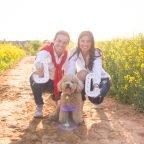 Un Preboda de primavera, amb la Júlia, en Carlos i la Brownie