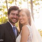 Blanca i Edgar, elegant casament a l'aire lliure
