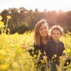 Passejant entre flors, Cris+Kenneth = Olly + bebé
