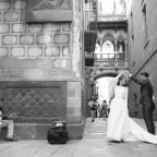 Postboda por el Gótico de Barcelona, con Diana y Alex