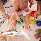 Smash painting para ensuciarse, pintar y celebrar