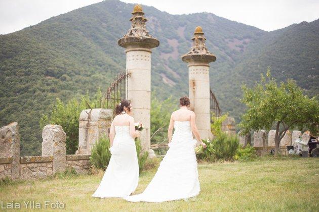 boda dos chicas laia ylla foto