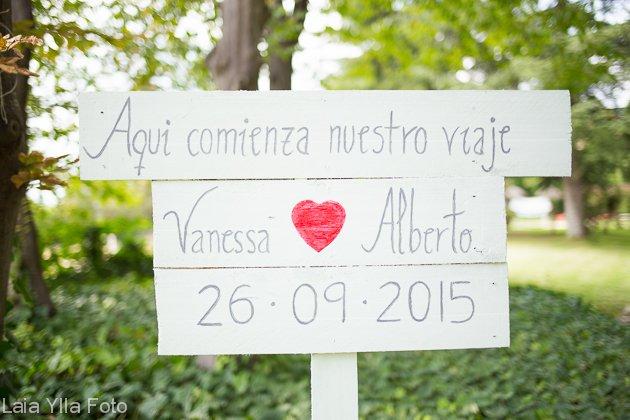 casament al aire lliure laia ylla