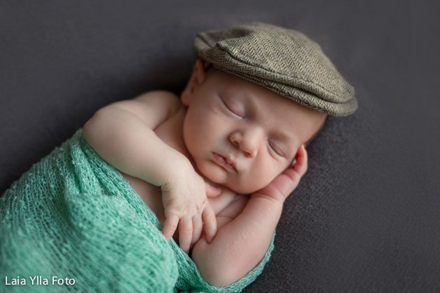 El Newborn de'n Jan, un bebé d'una setmana